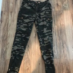 Forever 21 camo pants